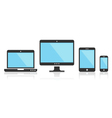 Multi Device Icons for presentation vector image