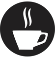 A cup of coffee icon vector image vector image