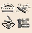 Barber shop vector image vector image