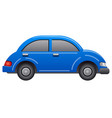 blue car icon vector image vector image