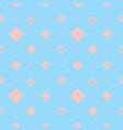blue diamonds pattern vector image vector image