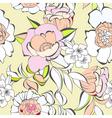 decorative seamless wallpaper vector image vector image