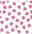 Hearts Seamless Pattern Wrapping Texture vector image vector image