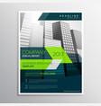 modern company brochure template design vector image vector image