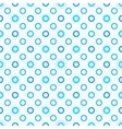 Modern seamless blue polka dot pattern vector image vector image