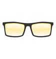 sun glasses mockup realistic style vector image