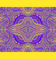 vibrant colorful fantasy psychedelic floral vector image vector image