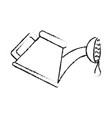 watering can icon image vector image vector image