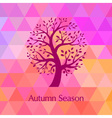 Autumn Bright Background for your design vector image