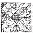bishops robe pattern is found in the sacristy of vector image vector image