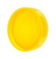 circle gold banner vector image