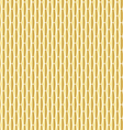 gold elongated hexagon pattern vector image vector image