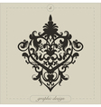 Graphic Element Flourish vector image vector image