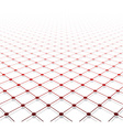Perspective grid surface vector image vector image