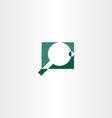 ping pong logo icon symbol vector image vector image