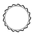 round frame element vintage stamp vector image vector image