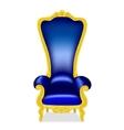 throne vector image vector image