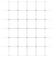 abstract grid mesh pattern with plus symbols vector image