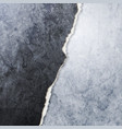 abstract grunge broken wall design vector image vector image