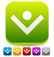 bright colorful download arrow unique download vector image vector image