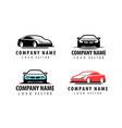car logo transport automobile symbol vector image vector image