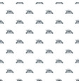 eco car pattern seamless vector image