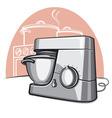 food processor vector image