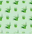 green grass nature design seamless pattern vector image