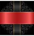 red black vector image vector image