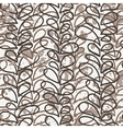 seamless pattern of colored vines vector image vector image