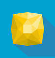 square diamond icon flat style vector image
