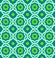 green geometric pattern vector image