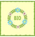 Bio concept vector image vector image