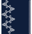 Blue christmas lace background