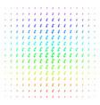 falling airplane shape halftone spectrum pattern vector image vector image