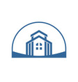 luxury home group land blue vector image