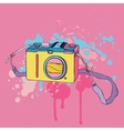 Photo Camera Hand drawn vector image