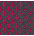 Red fleur de lis seamless background vector image vector image