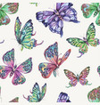 spring natural seamless pattern with vector image vector image