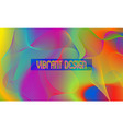 vibrant design background with chaotic swirling vector image