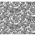 Wedding Rose Seamess Pattern vector image