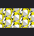 abstract geometric shapes flat seamless pattern vector image vector image