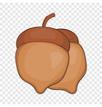 acorns icon cartoon style vector image vector image