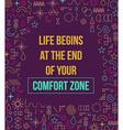 Comfort zone inspiration quote