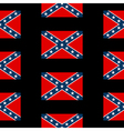 confederate states america seamless pattern vector image vector image