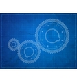 Gears blueprint business concept vector | Price: 1 Credit (USD $1)