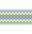 tribal ethnic ikat folklore pattern african vector image