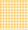 yellow tablecloth texture seamless background vector image vector image