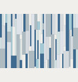 abstract geometric vertical rectangle stripes vector image vector image