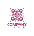 boutique logo design vector image vector image